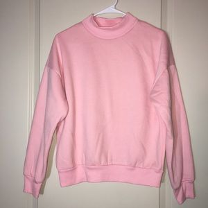 Tops - Cherry Aka crewneck sweatshirt with fleece lining